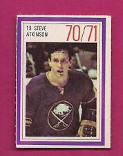 RARE 1970 SABRES STEVE ATKINSON  ESSO STAMP  (INV# A1790)