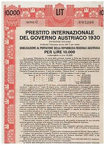 Austrian-Government-International-Loan-1930-Vienna-1930-10-000-Lire-italian