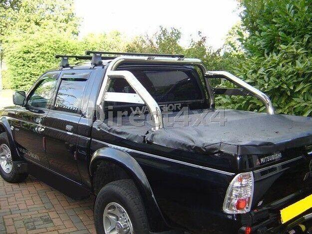 Mitsubishi L200 Upto 2005 S/S Roll Bar Boxed Sports Bar Loop Exterior Upgrade