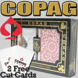 Copag 1546 Red Blue Poker Size Jumbo Index Playing Cards 2