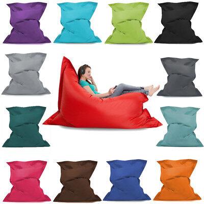 Giant Bean Bag Floor Cushion 3 Sizes Indoor Outdoor