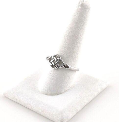 Acier Inoxydable Celtic Knot Ring-cadeau gratuit emballage