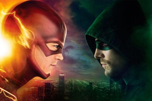 "The Flash Arrow TV Show Hero 24/"" x 16/"" Large Wall Poster Art Print Gift Decor"