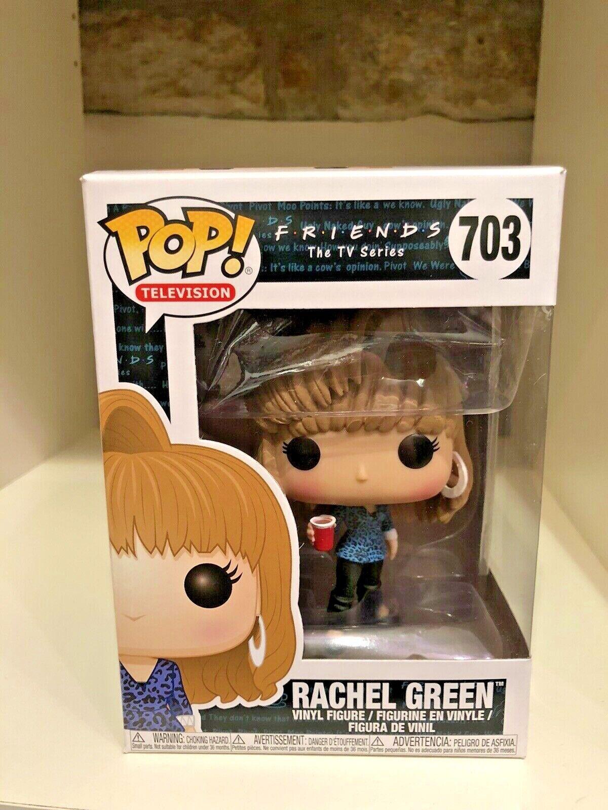 RACHEL GREEN 80s HAIR FUNKO POP FRIENDS TV SERIES FLASHBACK JENNIFER ANISTON 703