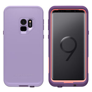 big sale 57cd6 edb31 Details about Genuine Lifeproof Fre case for Samsung Galaxy S9+ PLUS  waterproof Purple