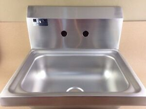 NEW W/ OUT FAUCET!! Elkay Foodservice Hand Sink SEHS-17X Ships FREE