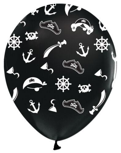 25er Set Luftballons Piraten Helium 30 cm Ballons Pirat Ballon Kinderparty
