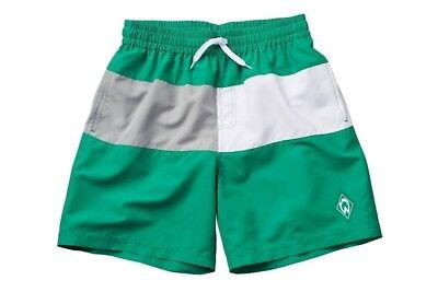 """Bescheiden Badeshorts Swimshorts Kids """"raute"""" Gr. 128 - 176 Sv Werder Bremen"""