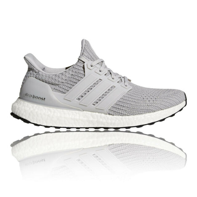 buy popular d8256 07c24 adidas Mens UltraBOOST Running Shoes Trainers Sneakers Grey Sports  Breathable