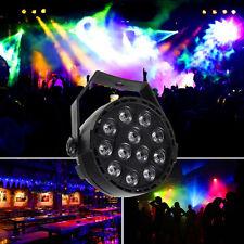 RGB 12 LED Stage Light Par 8CH DMX-512 Lighting Laser Projector Party Club DJ US