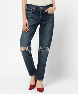 MOUSSY-Vintage-Berkley-Tapered-Distressed-Slim-Ankle-Denim-Jeans-30-350-5430
