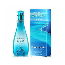 Davidoff-COOL-WATER-PURE-PACIFIC-edt-100ml-US-Tester-Free-Shipping-Nationwide