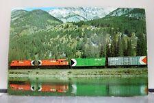 Train CP Rail Canadian Pacific Postcard Old Vintage Card View Standard Souvenir