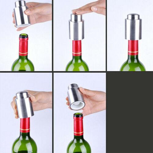 Weinverschluss Wein Flaschenverschluss Sektverschluss Edelstahl Rostfrei Flasche