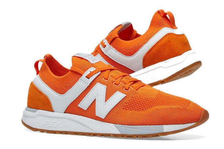 EntièreHommest neuf dans sa boîte nouveau   247 DR  Russian FOOTBALL  UK 8 Varsity Orange