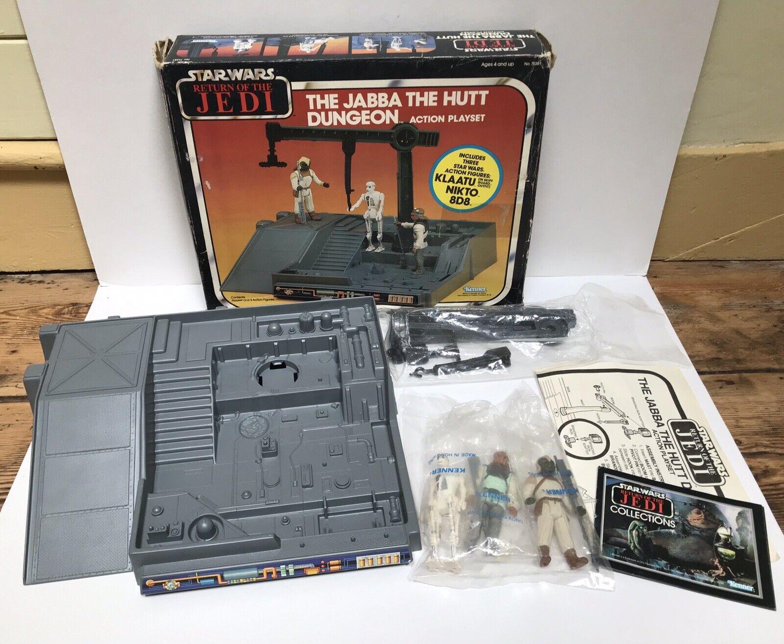 precios razonables Retro Retro Retro Estrella Wars Jabba The Hutt Dungeon Jugarset En Caja baggies Kenner Raro  online barato