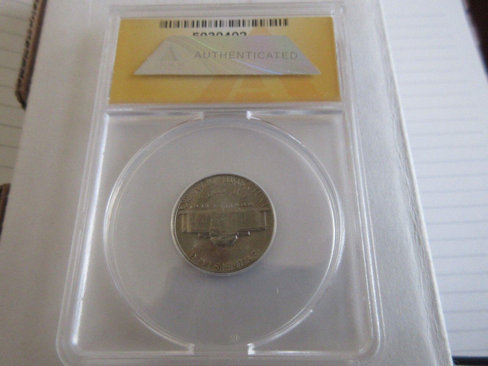 1967 , Jefferson Nickel , MS 65 , Anacs