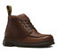 MARTENS AUSTIN Men/'s Moc Toe DR Leather Boots 21908201 Grizzly Dark Brown