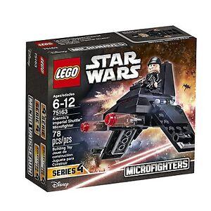 LEGO STAR WARS KRENNIC'S IMPERIAL SHUTTLE MICROFIGHTER (75163) - NEW, SEALED BOX