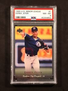 1995-Upper-Deck-Derek-Jeter-PSA-8-Minor-League-1-Hall-Of-Fame-Yankees-HOF