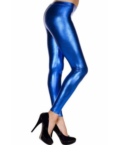 Music Legs 35110 Shiny Metallic Leggings