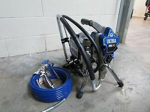 Graco Ultra 395 Pc Stand Airless Paint Sprayer 17c314 Old