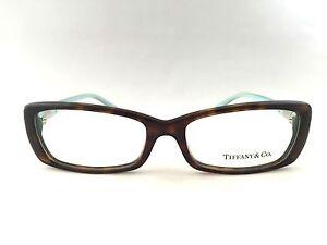 4ad6da898e25 New Tiffany   Co. TF 2070-B 8015 Dark Havana Blue 53mm Eyeglasses ...