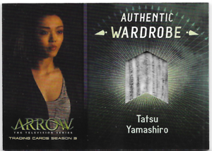 Arrow-3-Relic-Wardrobe-Costume-Card-Tatsu-Yamashiro-M04-M-04
