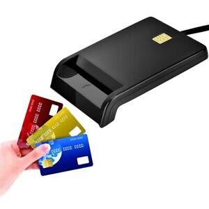 lecteur de carte a puce Portable Lecteur de Carte à Puce Smart SIM / ATM / IC / ID