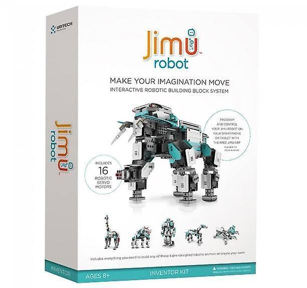 UBTECH - Jimu Inventor Level Interactive 5-in-1 Robot Building Kit, App Enabled