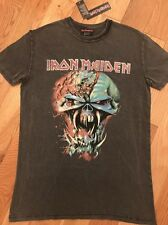 Da Donna IRON Maiden T-shirt Officially Licensed Product by Primark taglia UK 8
