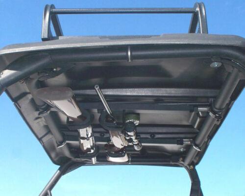 "Honda MUV700 Big Red UTV Overhead Double Gun Rack Adjustable 23/""-28/"" EZ Install"