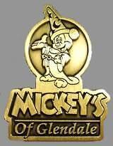 WDI Sorcerer Mickey Glendale LE 500 Brass Disney pin