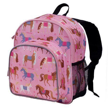 Olive Kids Horses Pack /'n Snack Backpack W