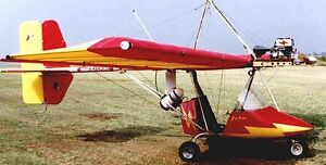 Details about Hy-Tek Hurricane 103 Ultralight Airplane Wood Model Replica  Large Free Shipping