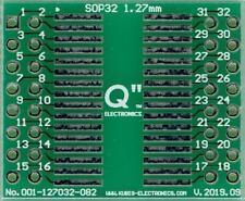 Adapterplatine für SO20,SOP20,SOIC20 mit 1.27mm Rastermaß auf 2 x IDC2x5. DE