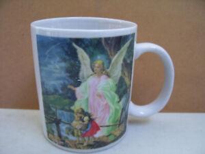 Angel-Of-God-Poem-Coffee-Tea-Mug-Cup-Good-Condition