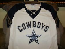bbb2af89900 norway item 2 nfl dallas cowboys sparkle bling rhinestones fitted jersey  shirt womens xl nfl dallas