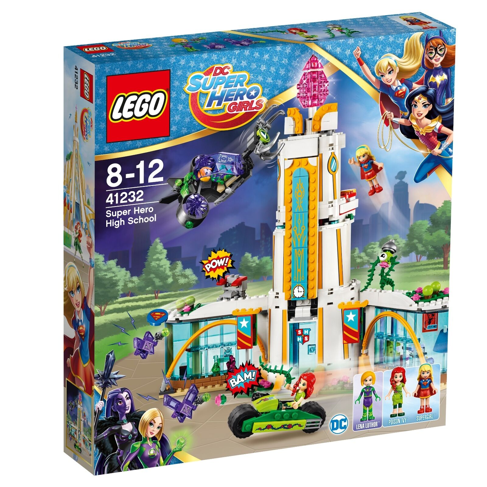 LEGO ® DC Super Hero Girls ™ 41232 liceo della Super Heroes NUOVO OVP NEW MISB
