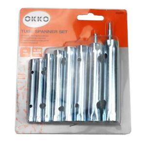Rohrsteckschlüssel Satz 9 teilig 6-22 mm Rohr Steckschlüssel