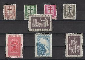 Belgie Belgique Belgium Stamps 1952 Mi 952 959 Ebay