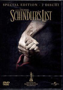 SCHINDLER-039-S-LIST-DVD-NUOVO-E-SIGILLATO-EDIZIONE-SPECIALE-2-DISCHI