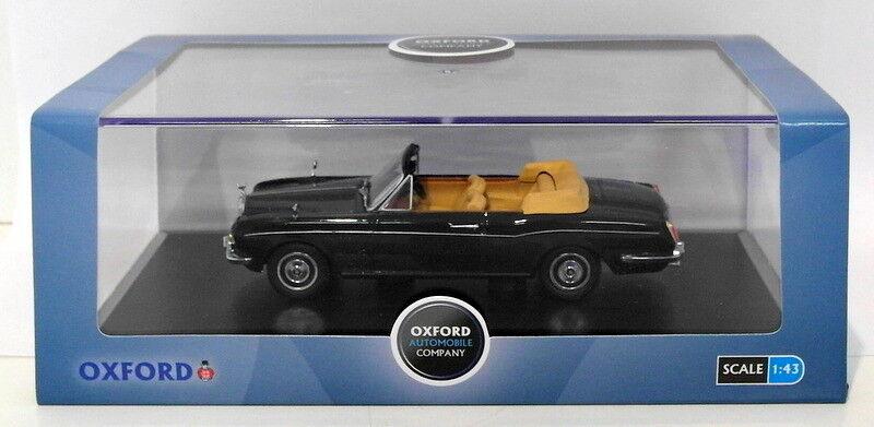 Oxford Diecast 1 43 Scale 43RRC001 - Rolls Royce Corniche Conv - Indigo bluee