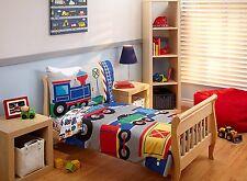 Choo Choo Bedding Set Everything Kids Toddler Boys Train 4 Piece Bed New