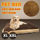 XL XXL Soft Plush Pet Bed Mattress Dog Cat Pad Mat Cushion Pillow Extra Large