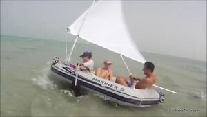 Details about Sail kit for Intex Mariner 3 Inflatable Boats, Seahawk II  Rafts  Folds small!
