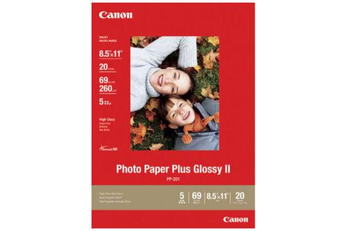 Genuine Canon 8.5x11 PP201 glossy photo paper PIXMA MG2420 MG2520 MG2920 iP2820
