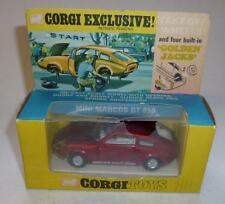 CORGI TOYS VINTAGE DIECAST RARE BOXED #341 MINI MARCOS GT 850 'GOLDEN JACKS'