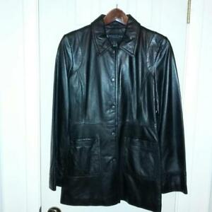 Jacket Cole M Medium Reaction Nwot Black Kenneth Leather Størrelse a7x4xIw