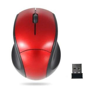 2.4GHz Mice Optical Mouse Cordless+USB Receiver PC Computer Wireless for Laptop